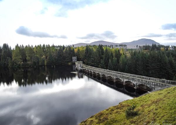 Laggan Dam, Inverness, Escocia